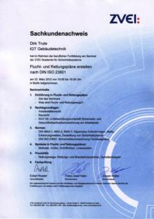erstellen brandschutzordnung din 14096